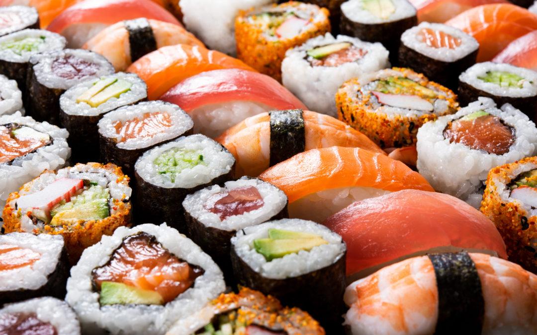 """Sushi: Past, Present, Future"" by Mineko Moreno & Judi Strada"